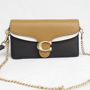 Coach Bags - Coach 76199 Tabby Straw Colorblock Crossbody